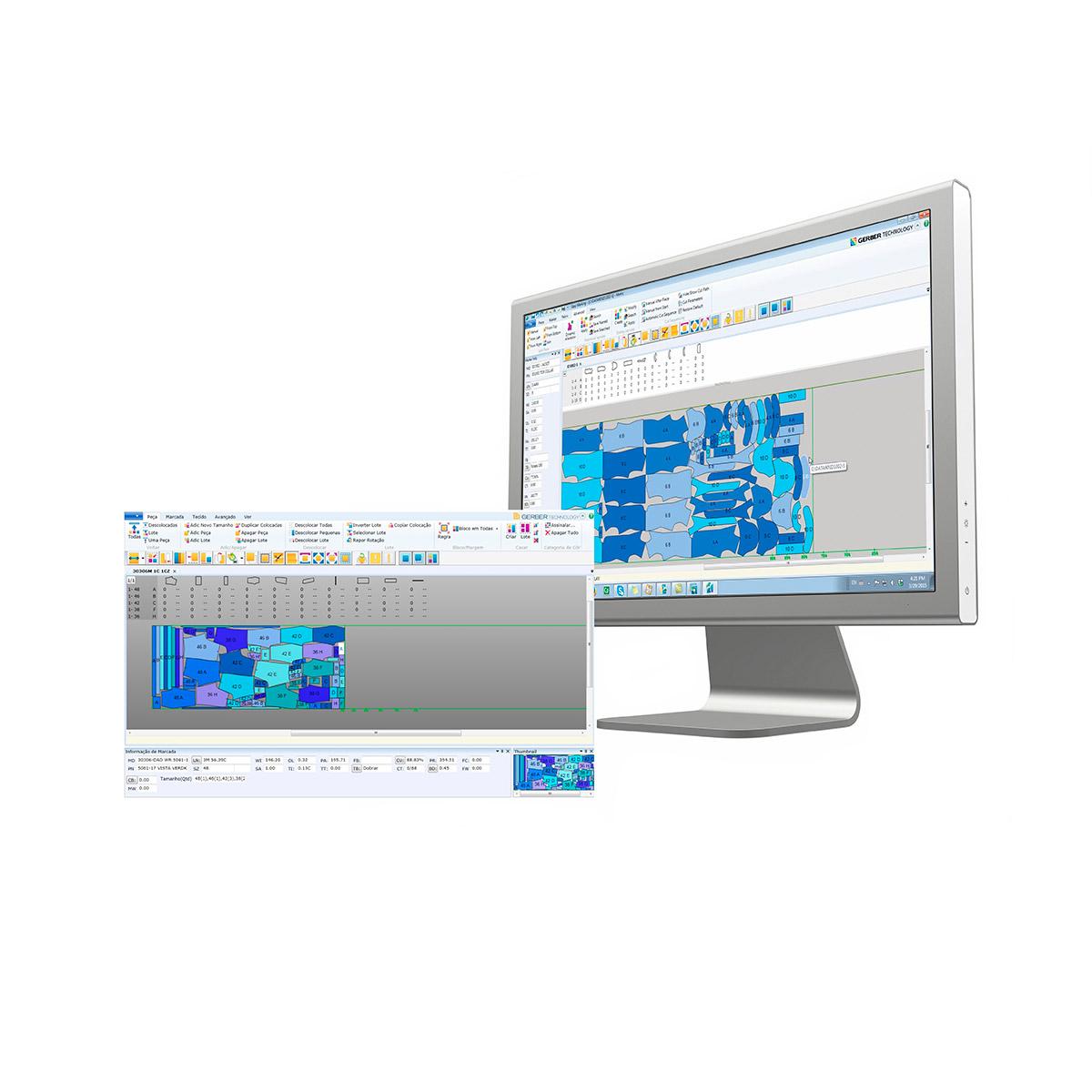 Sistema CAD AccuMark® MTM - Moldplast
